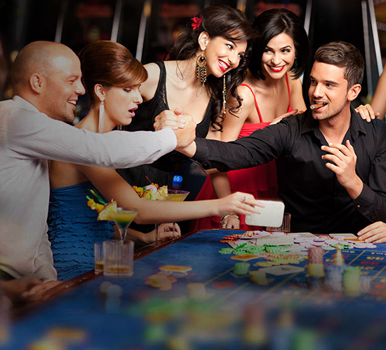 Hire a limousine for the casino trip